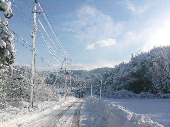 2011年お正月の大雪