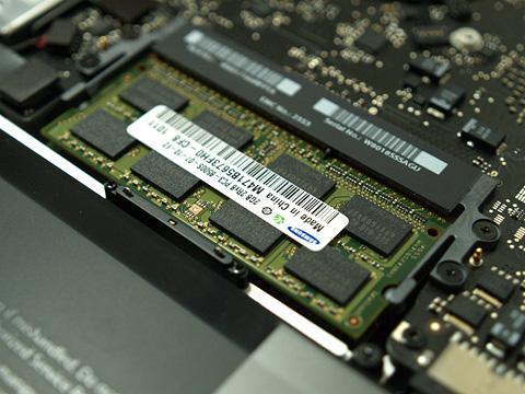 サムスンのメモリ2GB×2